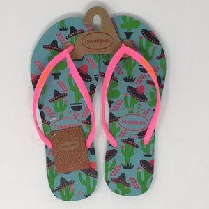Havaianas Women's Slim Cool Sandal Flip-Flop 11/12